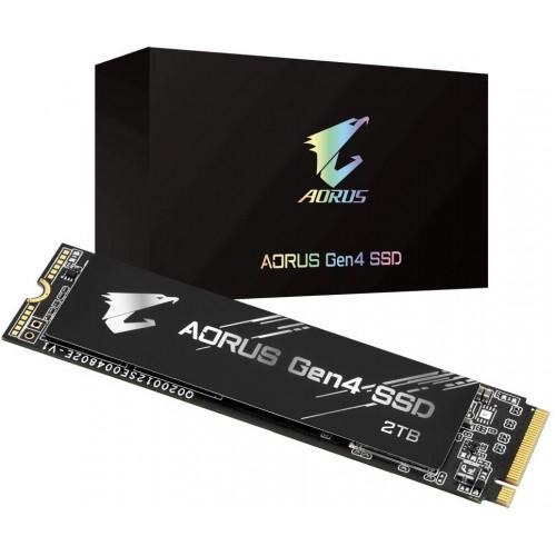 GIGABYTE AORUS NVMe Gen4 M.2 2TB PCI-Express 4.0 3D TLC NAND